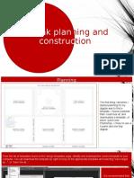 Digipak Plannindg and Construction