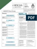Boletín Oficial de la República Argentina, Número 33.351. 06 de abril de 2016
