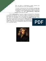 Trabalho de Newton