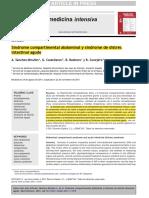 Hipertension Intrabdominal y Sindrome Compartimental Abdominal