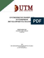Entrepreneurship and Enterprise Development