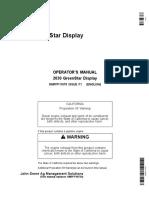 2630 GS Display Operators Manual