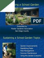 Sustaining a School Garden