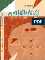 Maths 2 - Class XII