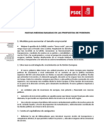 Documento Propuestas Podemos
