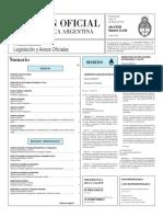 Boletín Oficial - 2016-03-14 - 1º Sección