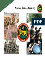 MNC I WarriorValues