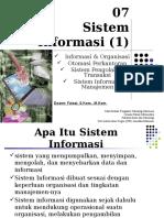 Chapter 07-Sistem Informasi