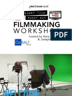 The 72hour Short Film Shootout LIVE Filmmaking Workshop Presentation