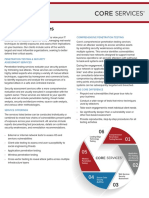 Core Security Consulting Services Data Sheet