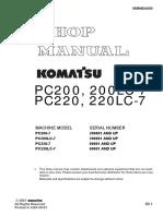 SM PC200-7 SEBM024300 s_n 200001 Up