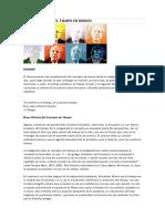 Tres Versiones Del Tiempo en Borges