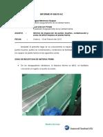 Informe Inspección de Puntos Muertos, Condensacion y Zonas de Dificil Limpieza en Planta Harina