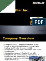 Caterpillar Presentation Firm Analysis