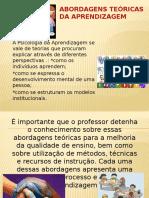 Abordagens Teóricas da Aprendizagem (Deborah Passon)