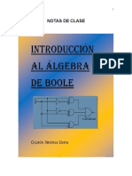 Introducción al Algebra de Boole