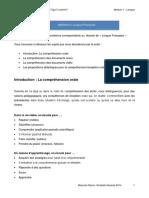 Modulo 1 Competencia Recepción Oral 2015
