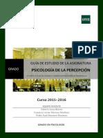 Guia II Psicología de la Percepcion 2016