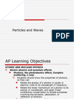 Physics - Particles and Waves