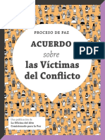 Comprenda de qué se trata el acuerdo sobre las Víctimas del Conflicto