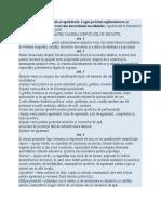 Legea 24 2007 Actualizată Şi Republicată
