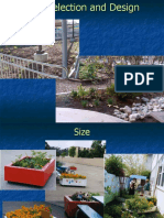 Related Presentation - Garden Design - Site Selection and Design