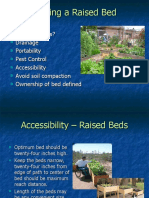 Related Presentation - Accessibility - Building a Raised Bed