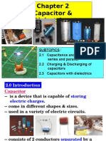 Chapter 2 Capacitor and Dielectrics 2016 Reviewed