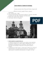 Monumento Histórico Catedral de Santiago