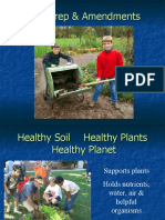 Related Presentation - Soil Management - Soil Prep and Amendments