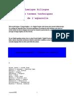 Lexique Termes Aquarelle Francais Et Anglais.1229201032