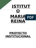 PROYECTO INSTITUCIONAL 2012.doc