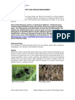 Pests and Disease Management