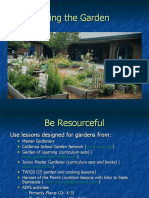 Related Presentation - Integrating the Garden into your Curriculum - Using the Garden