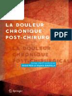 La Douleur Chronique Post-chirurgicale-Springer Paris (2013)