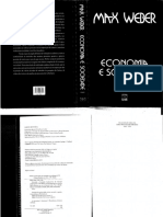 Weber Max Economia e Sociedade Volume 1pdf