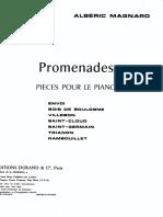 Magnard Albéric - Promenades