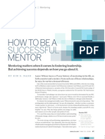How to Be a Successful Mentor