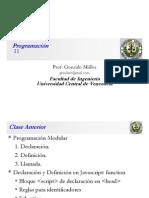 Clase Programacion 11