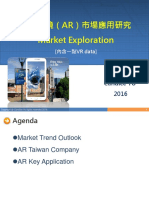 AR Market Outlook 2016 by Candice