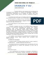 Las Variables y Su Operacionalización.