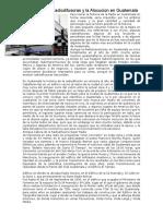 Las Radiodifusoras y La Alocucion en Guatemala