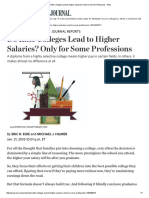 Do Elite Colleges Lead to Higher Salaries_ Only for Some Professions - WSJ