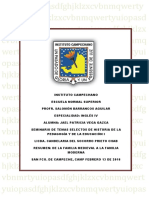 seminario temas selectosLa Familia Medieval a La Familia Moderna
