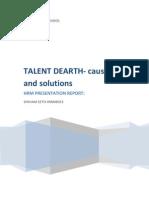 Talent Dearth