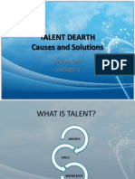 Talent Dearth Ppt