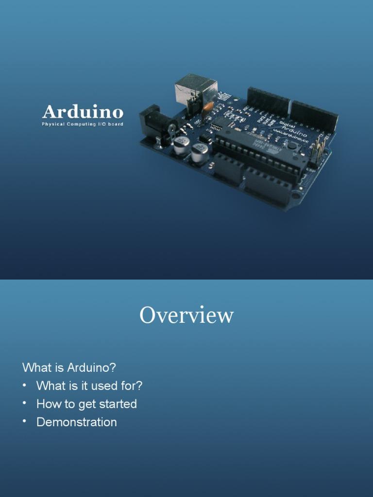 Arduino ppt light emitting diode