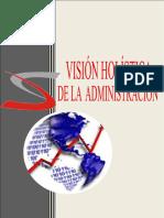 Visión Holística de la Administracion