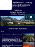 Hypothesis Presentation