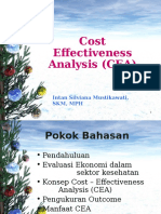 6. Cost Effectiveness Analysis